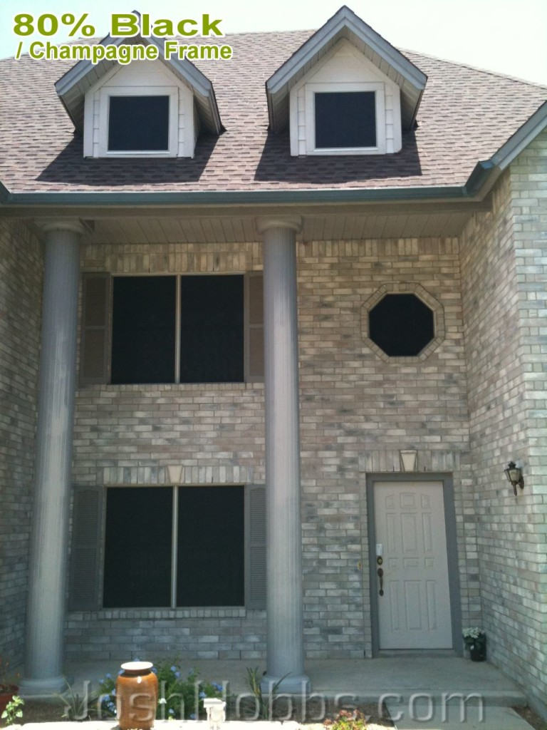 Georgetown TX Heat Shade Screens for Windows